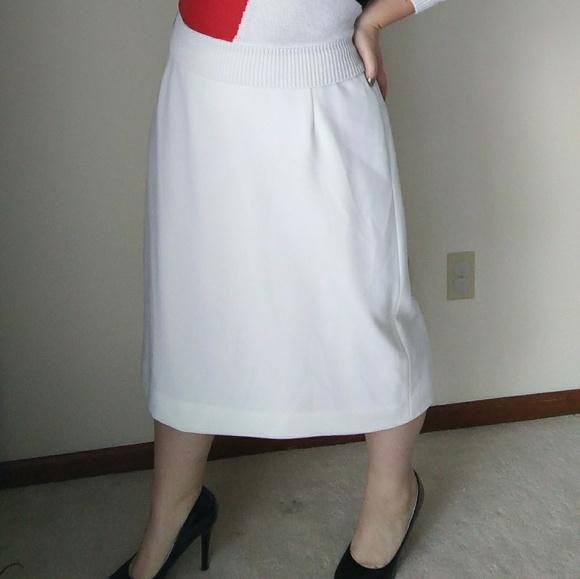 Women's Clothing Skirts White Skirt Size 16